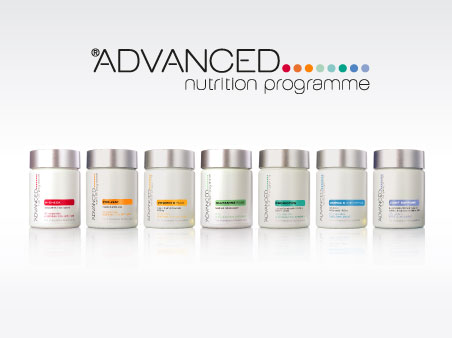 ANP vitamin supplement bottles