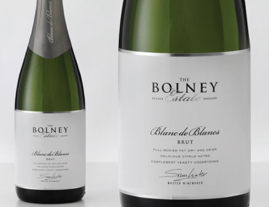 Bolney Wine Labels - white wine