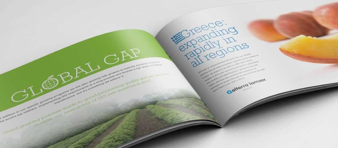 Lamex brochure inside spread
