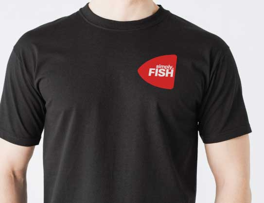 Simply Fish - serving staff T-Shirt